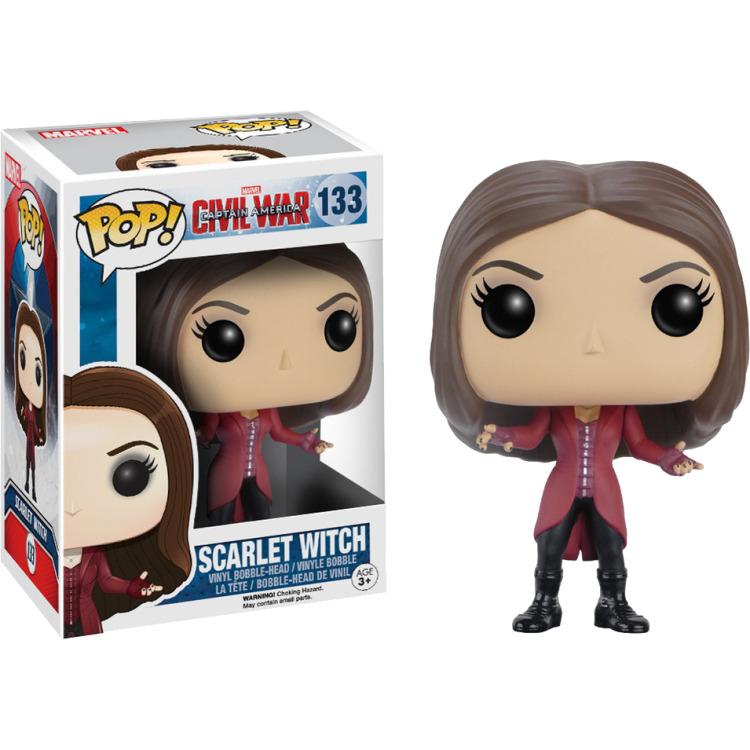 Marvel Captain America Civil War Scarlet Witch Pop! Vinyl Figure