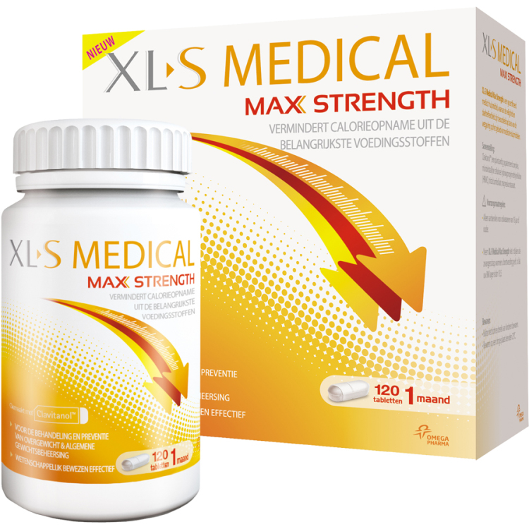 Image of XL-S Medical Max Strength, 120 Tabletten