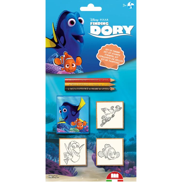 Image of Disney Pixar Finding Dory Stempelset, 7-delig