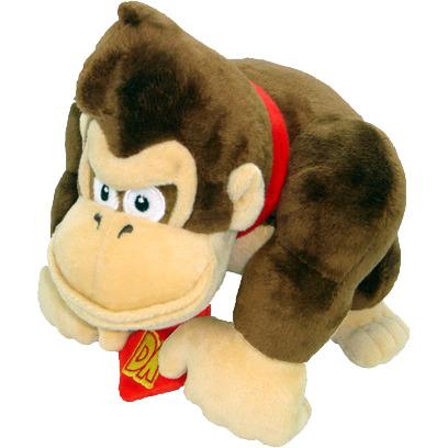Super Mario Bros: Donkey Kong 9 Inch Plush