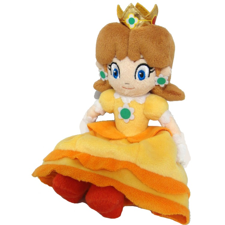Super Mario Bros.: Daisy 8 Inch Plush