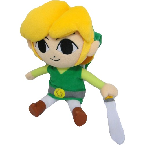 Legend Of Zelda: Phantom Hourglass Link 12 Inch Plush