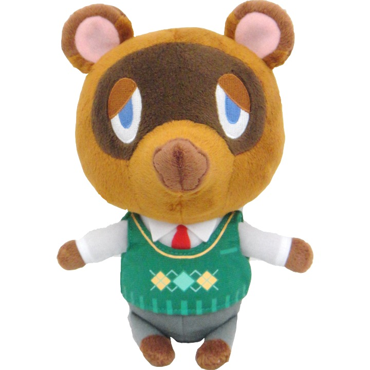 Animal Crossing: Tom Nook 7 Inch Plush
