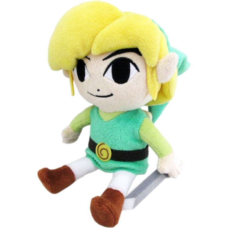Legend Of Zelda: The Wind Waker Link 12 Inch Plush