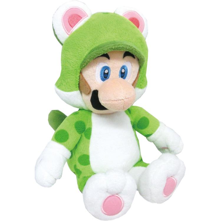 Super Mario Bros.: Cat Luigi 14 Inch Plush