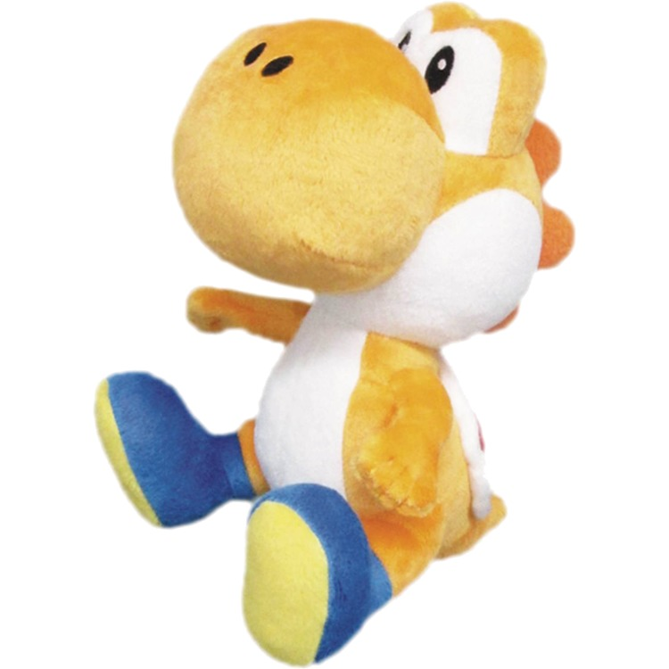Super Mario Bros.: Orange Yoshi 6 Inch Plush