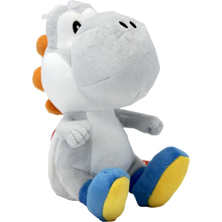 Super Mario Bros.: White Yoshi 6 Inch Plush
