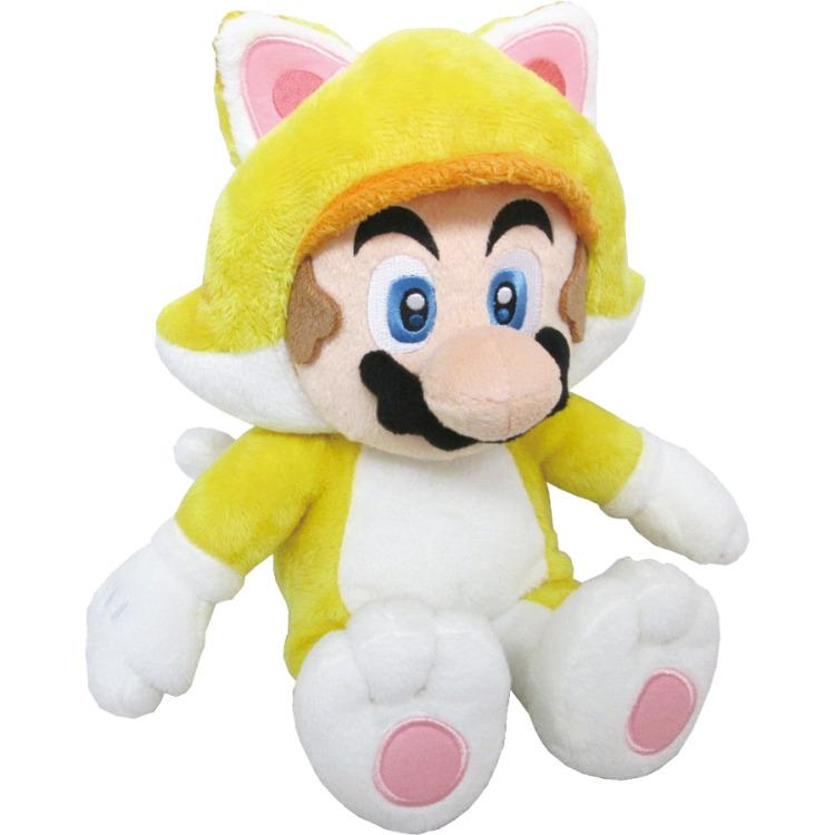 Super Mario Bros.: Cat Mario 12 Inch Plush