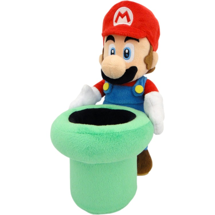 Super Mario Bros.: Mario Warp Pipe 9 Inch Plush