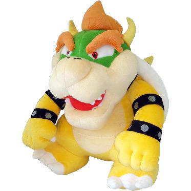 Super Mario Bros.: Bowser 16 Inch Plush
