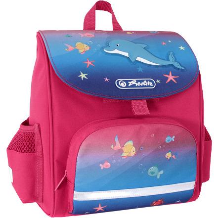 Herlitz kleuterschooltas softbag dolfijn