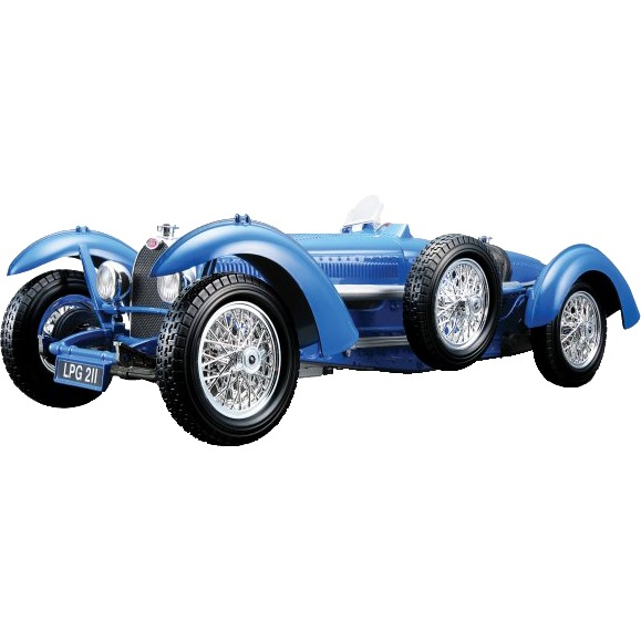 Image of Bugatti Type 59 1934 1:18 blauw