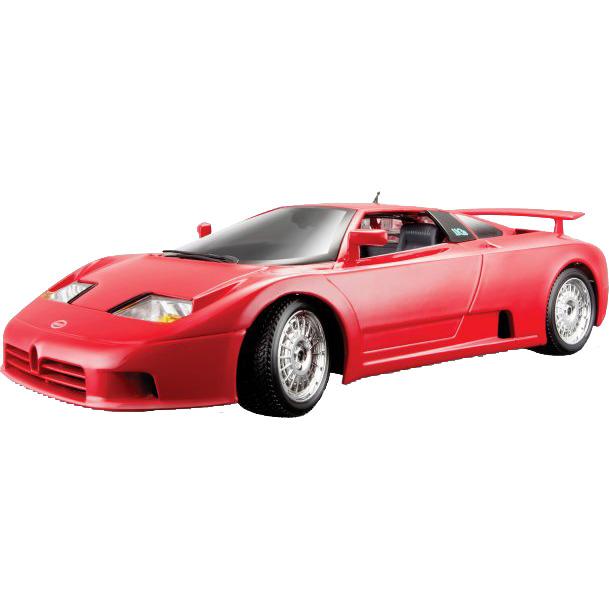 Image of Bugatti Eb 110 1990 1:18 rood