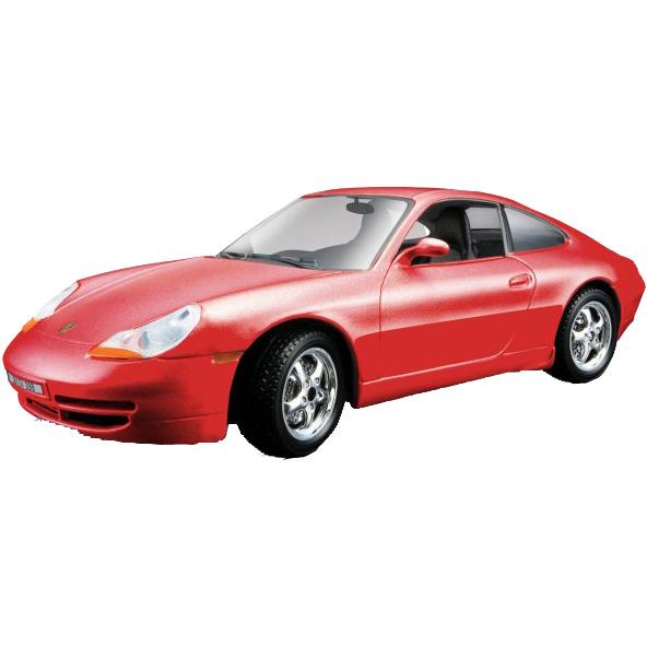 Porsche 911 Carrera 1:18 rood