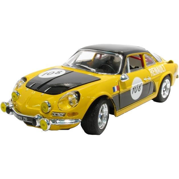 Renault Alpine A110 1600s #108 1:18 Geel