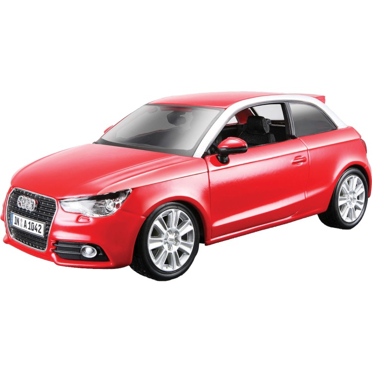 Image of Audi A1 1:24 rood