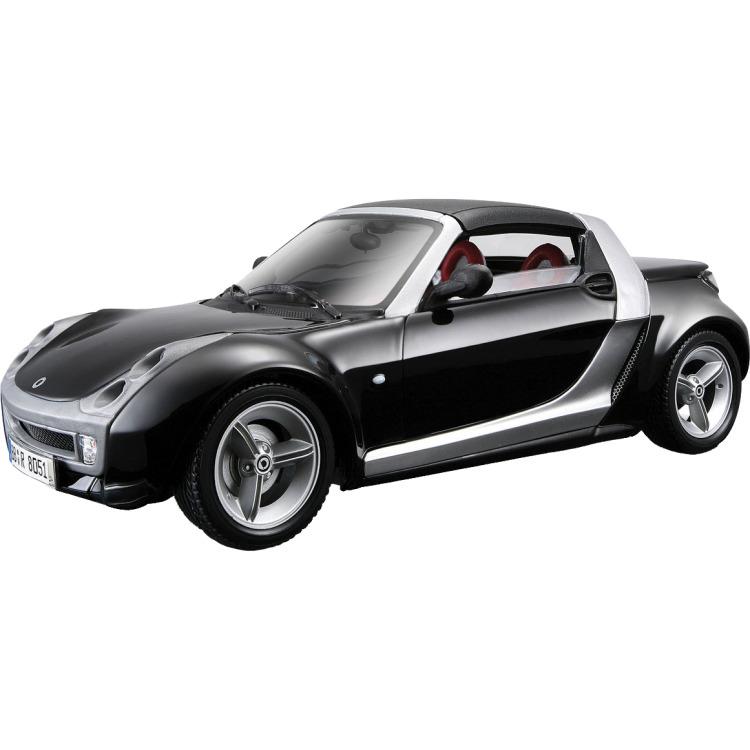 Smart Roadster 1999 1:18 zwart
