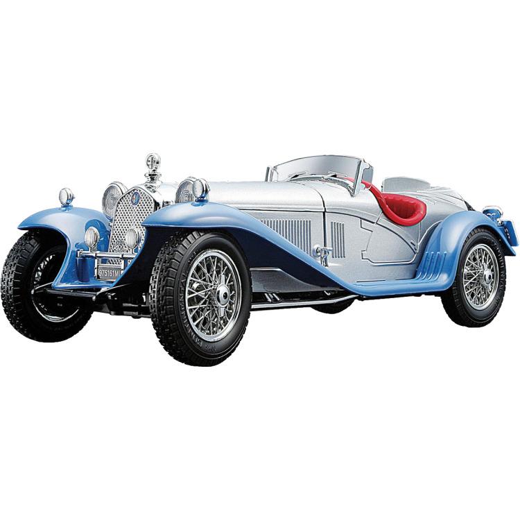 Image of Alfa Romeo 8c 2300 Spider Touring 1932 1:18 zilver