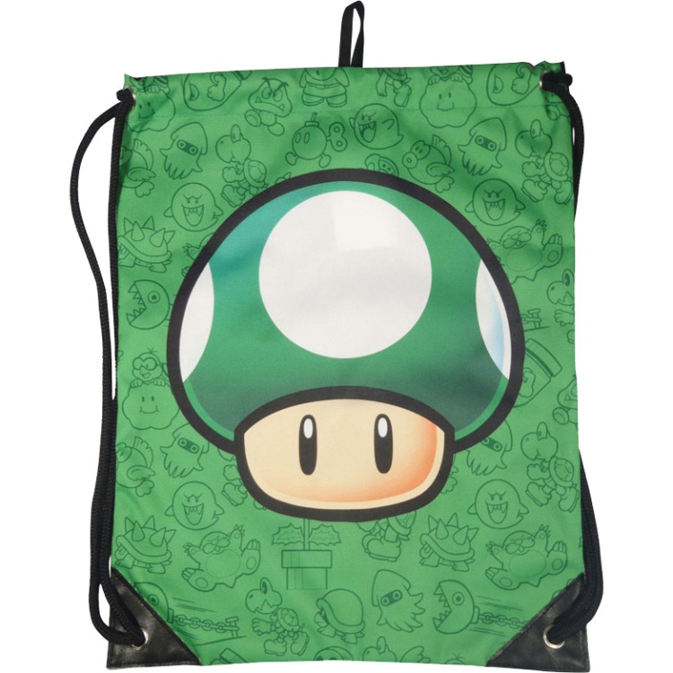 Nintendo Gym Bag Mushroom (green)