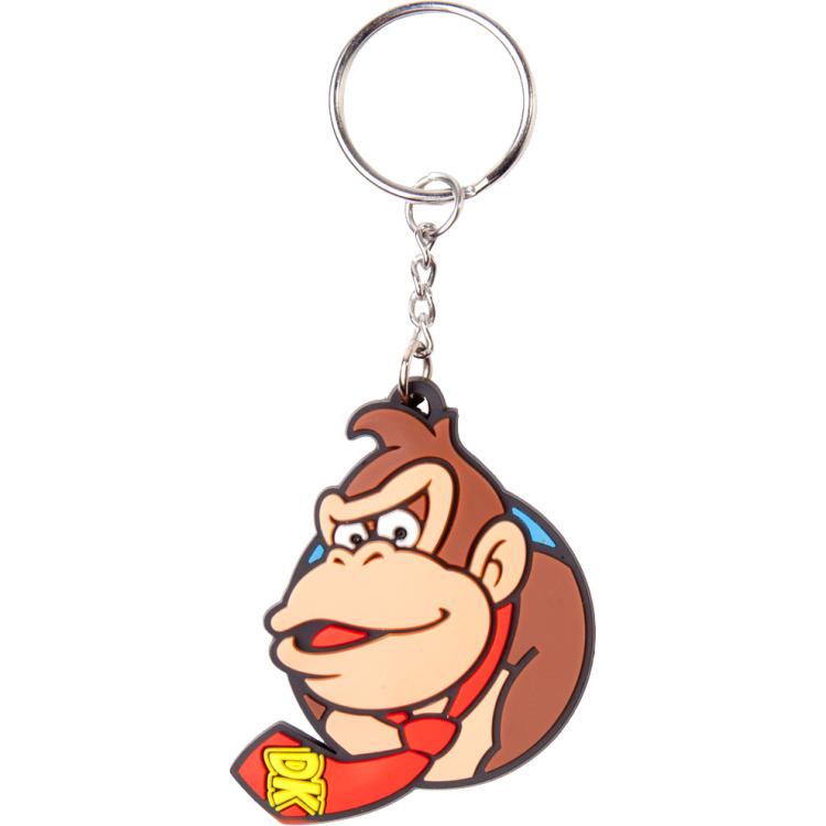 Productafbeelding voor 'Nintendo - Donkey Kong Rubber Keychain'