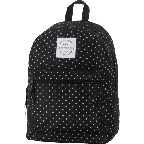 Image of Rugzak Black Polkadot