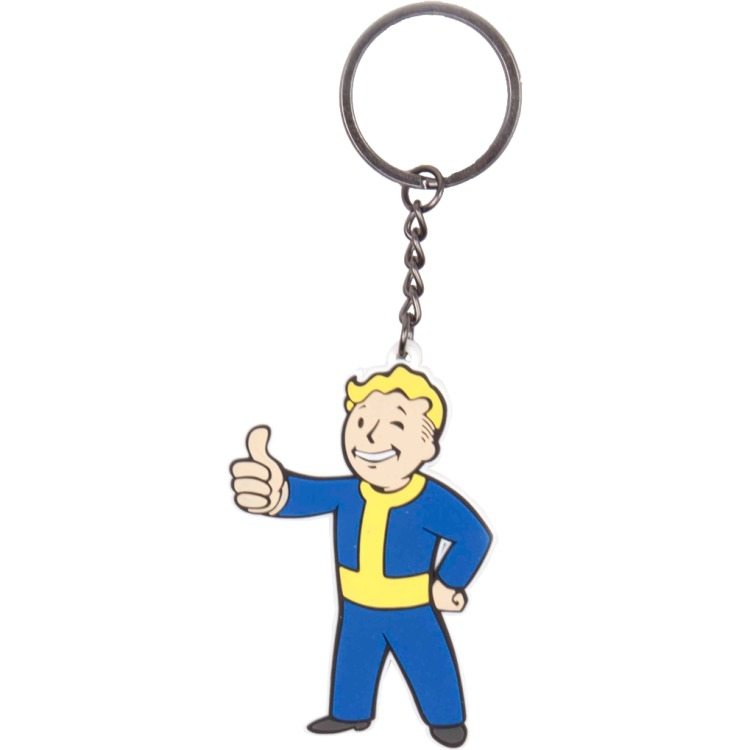 Productafbeelding voor 'Fallout 4 - Vault Boy Approves Keychain'