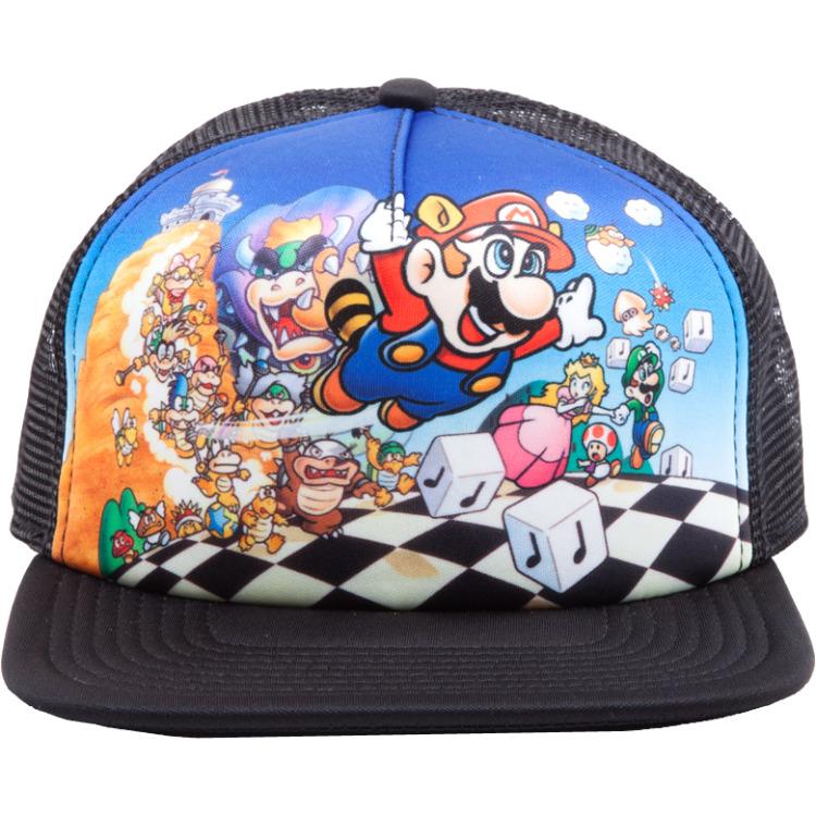 Productafbeelding voor 'Nintendo - Super Mario Bros 3 Snapback'