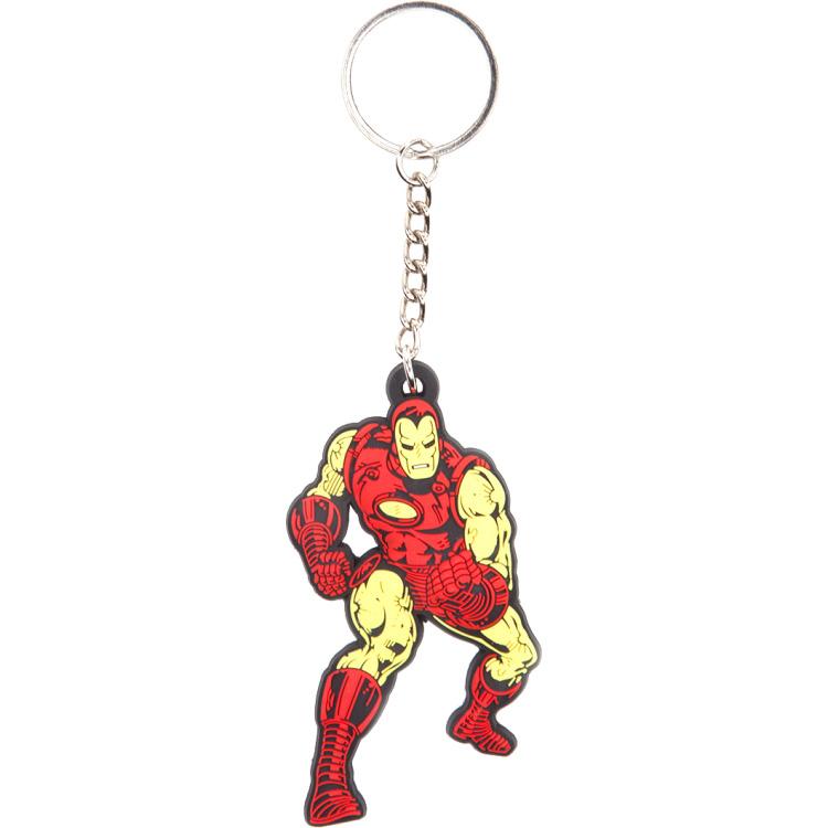 Productafbeelding voor 'Marvel - Iron Man Rubber Keychain'