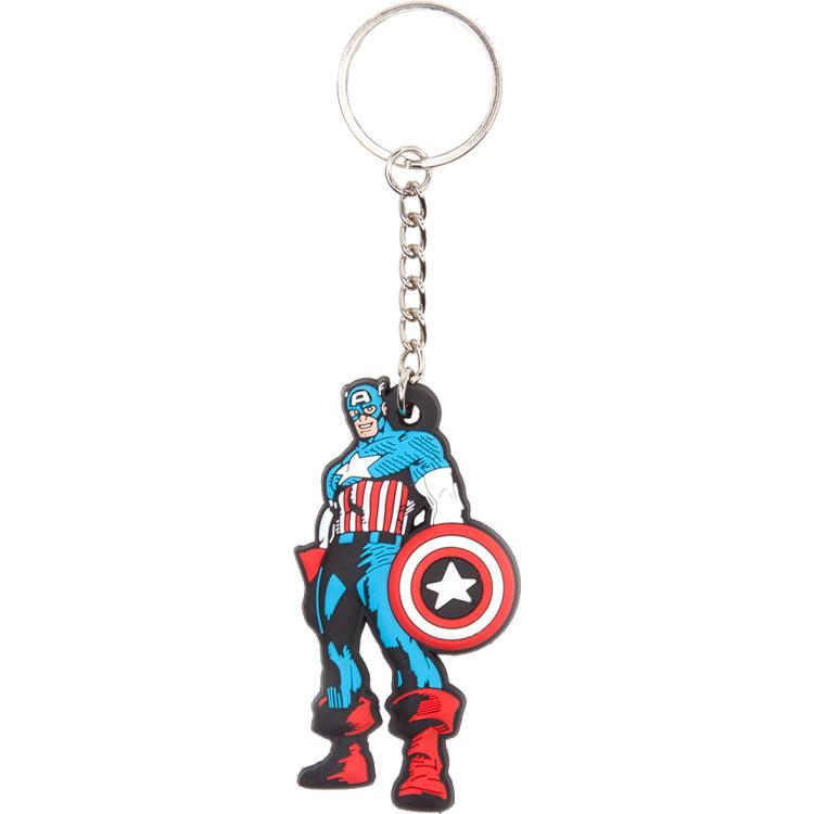 Productafbeelding voor 'Marvel - Comic Captain America Keychain'