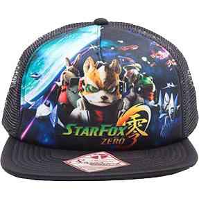 Productafbeelding voor 'Nintendo - Starfox Snapback Trucker Cap'