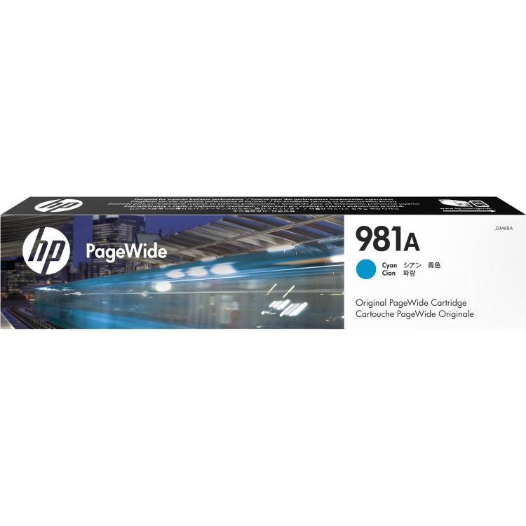 Image of 981A Originele Cyaan PageWide cartridge (J3M68A)
