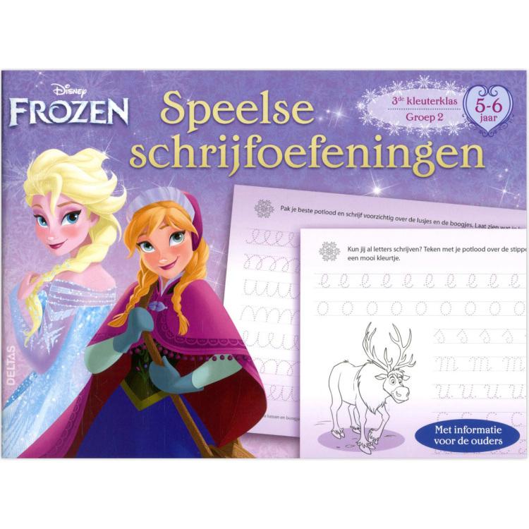 Image of Disney Frozen Speelse Schrijfoefeni