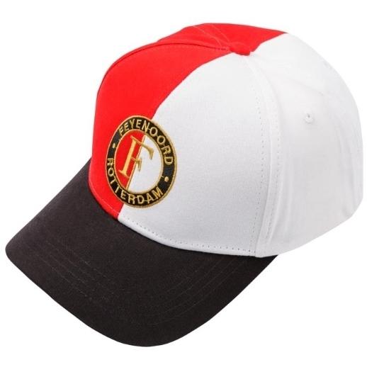 Image of Feye Cap Feyenoord Senior Rood/wit Logo