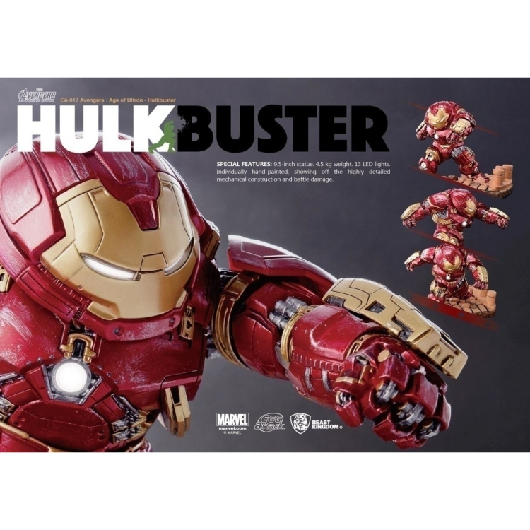 Image of Avengers: Age Of Ultron - Hulkbuster Egg Attack Statue