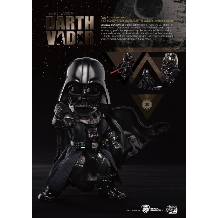 Image of Star Wars V: Darth Vader Limited Ed. Egg Attack AF
