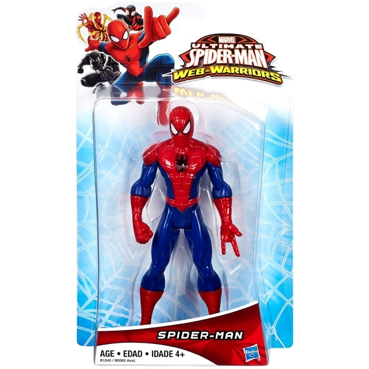 Ultimate Spider-Man Web Warriors: Classic Spider-Man 10 cm figuur