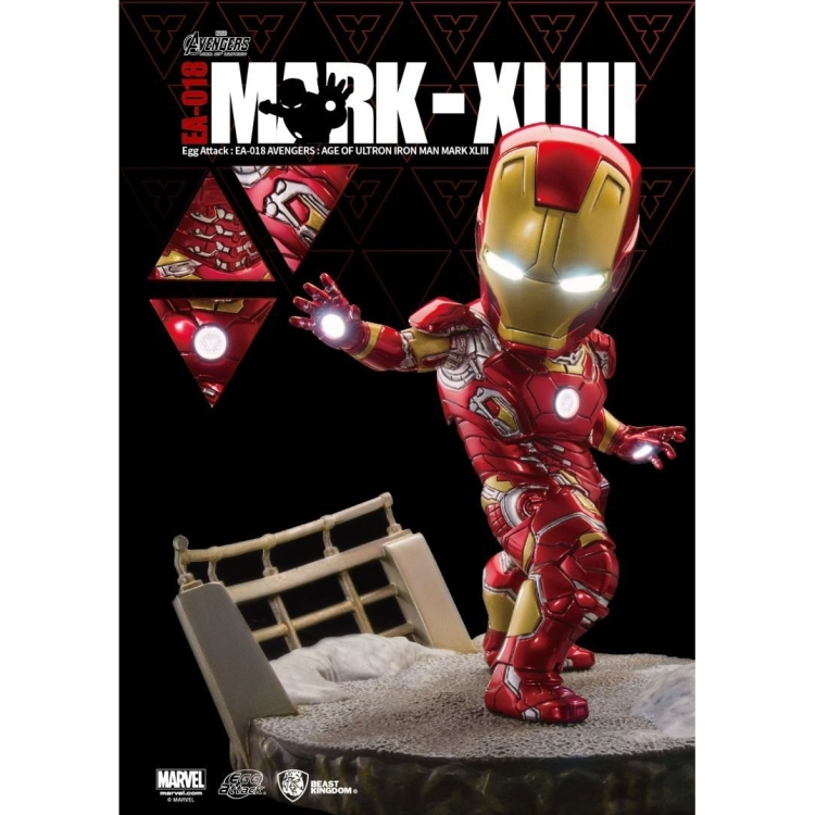 Image of Avengers: Age Of Ultron - Mark 43 Egg Attack Statue