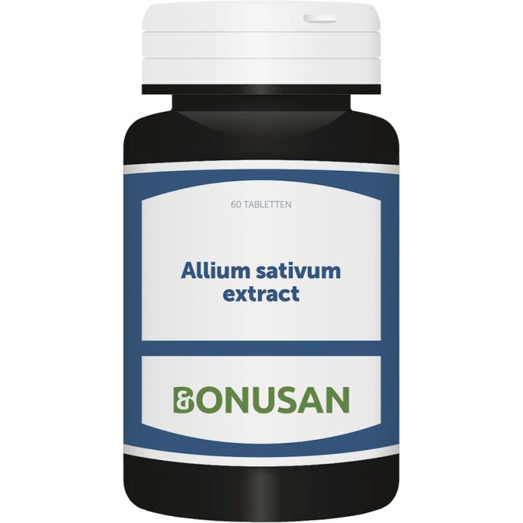Image of Allium Sativum Extract, 60 Tabletten