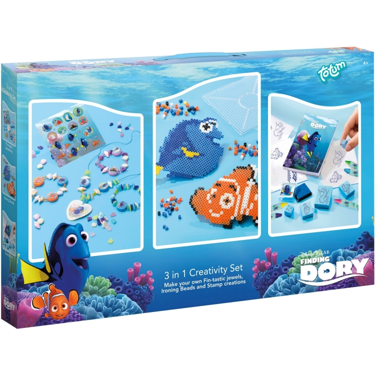 Image of Disney Pixar Finding Dory 3 In 1 Creativity Set