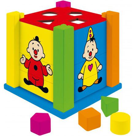 Bumba houten vormenstoof met puzzels