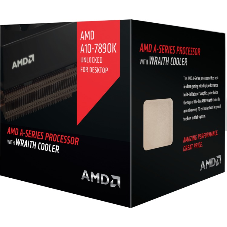 Image of A10-7890K 4,1 GHz (4,3 GHz Turbo Boost)