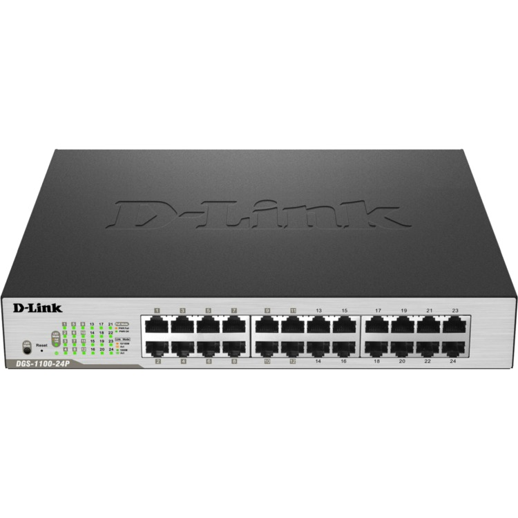 Image of D-Link 24-PORT GIGABIT EASYSMART POE SWITCH