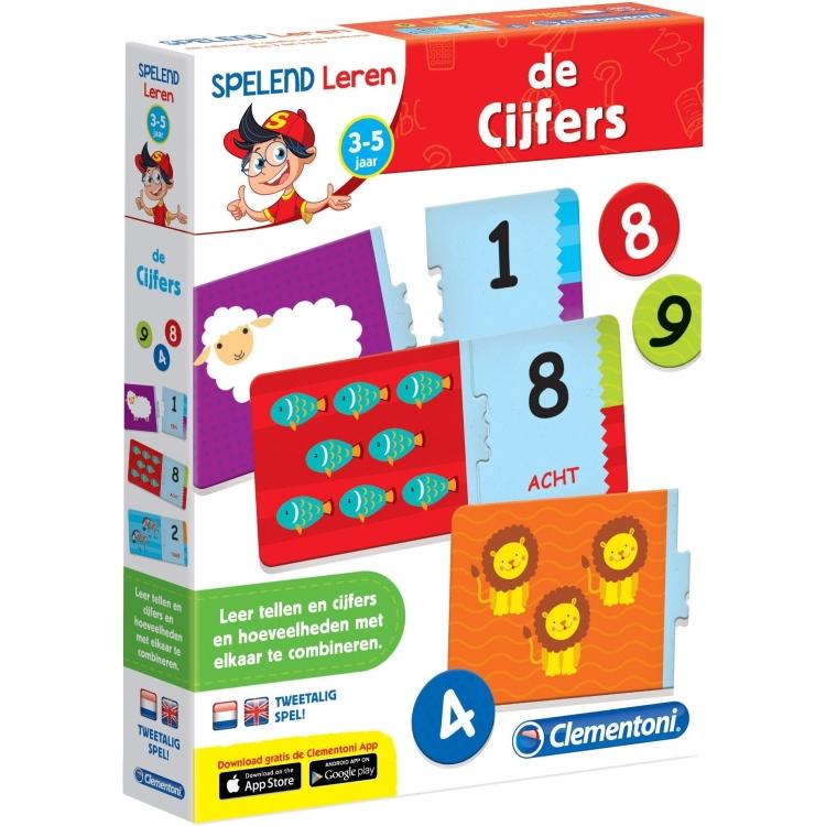 Image of Clementoni Leerspel De Cijfers