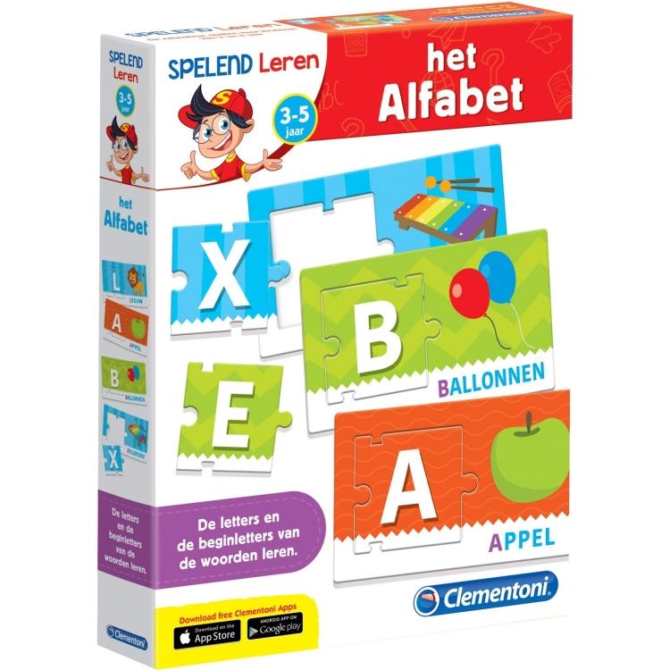 Image of Clementoni Leerspel Het Alfabet