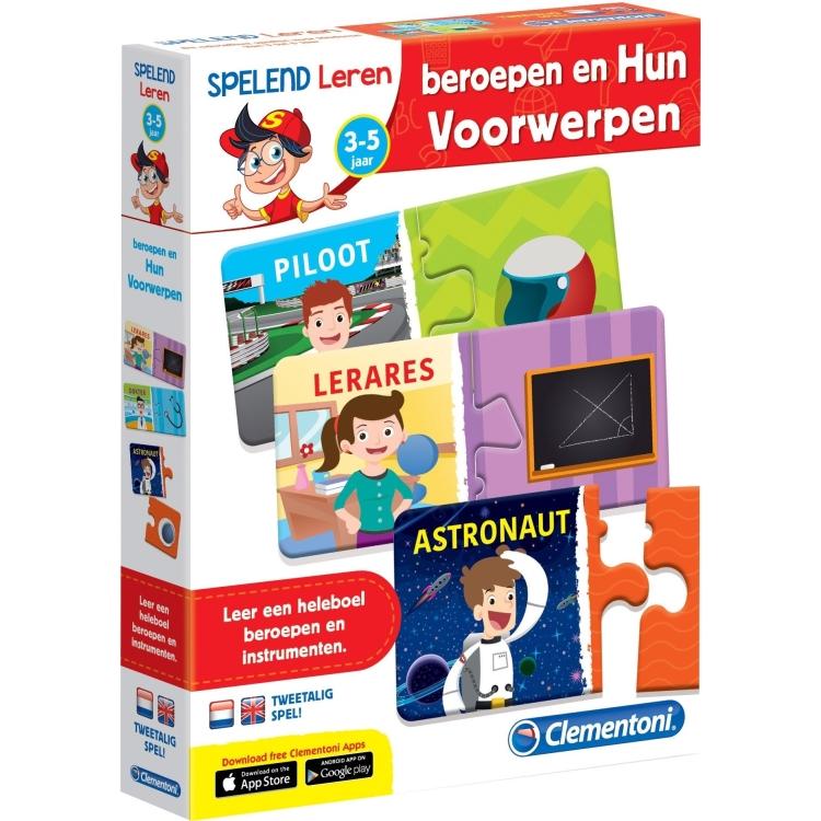 Image of Clementoni leerspel Beroepen