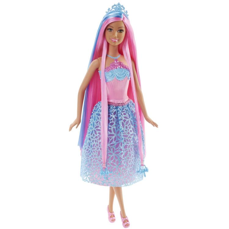 Image of Barbie Bijzonder Lang Haar - Prinses Roze Haar