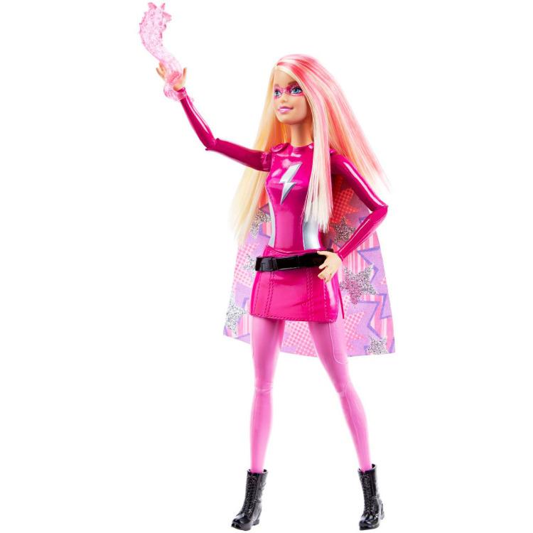 Barbie superhelden pop roze mattel in de aanbieding kopen for Barbiehuis aanbieding