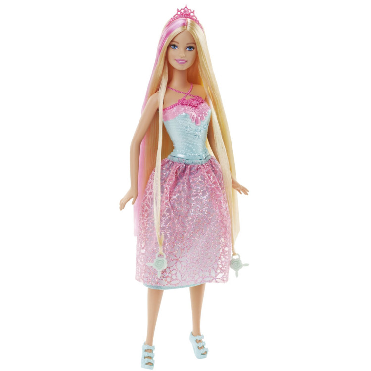 Image of Barbie Bijzonder Lang Haar - Prinses Blond Haar
