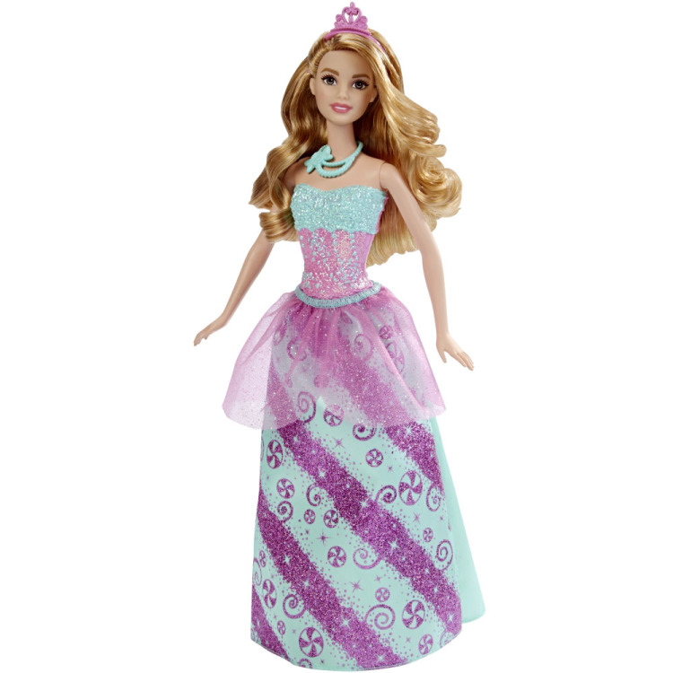 Image of Barbie Fairytale Prinses pop Candy Fashion