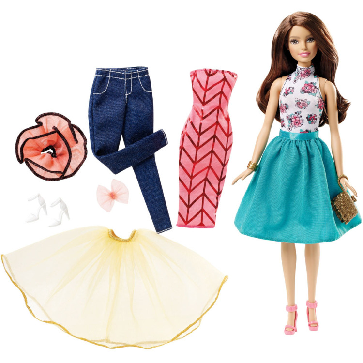 Image of Barbie Fashion Mix & Match - Brunette